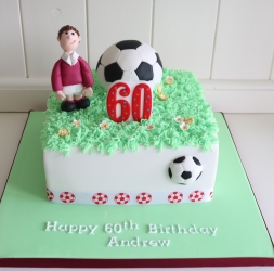 Celebration cake – Footballer