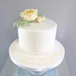 English Rose Celebration cake